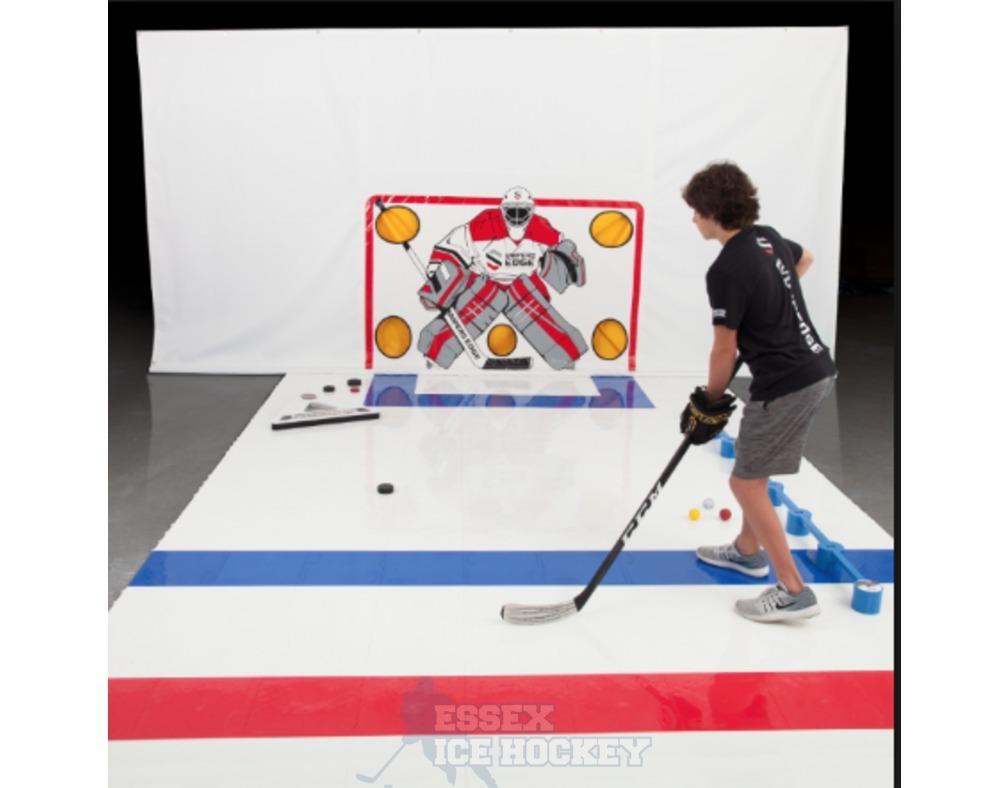 Ccm Snipers Edge Slick Ice Blue Tiles Essex Ice Hockey